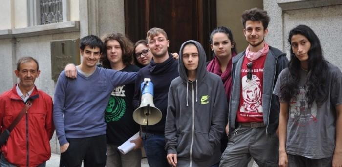 Manifestazione studenti al Provveditorato (6)